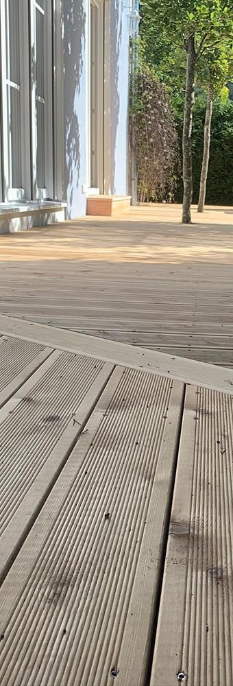 Thermo-EschePortfolio: Balkone, Zäune und TerrassenThermo-Esche